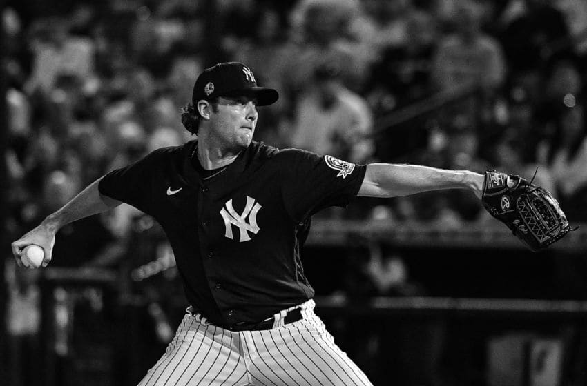 Gerrit Cole of the New York Yankees (Photo by Mark Brown/Getty Images)