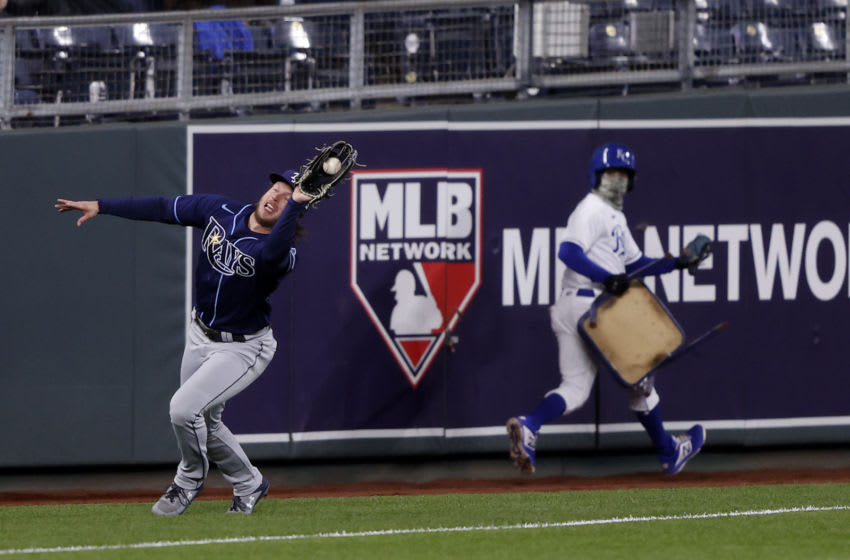 Brett Phillips Tampa Bay Rays (Photo by Jamie Squire/Getty Images)