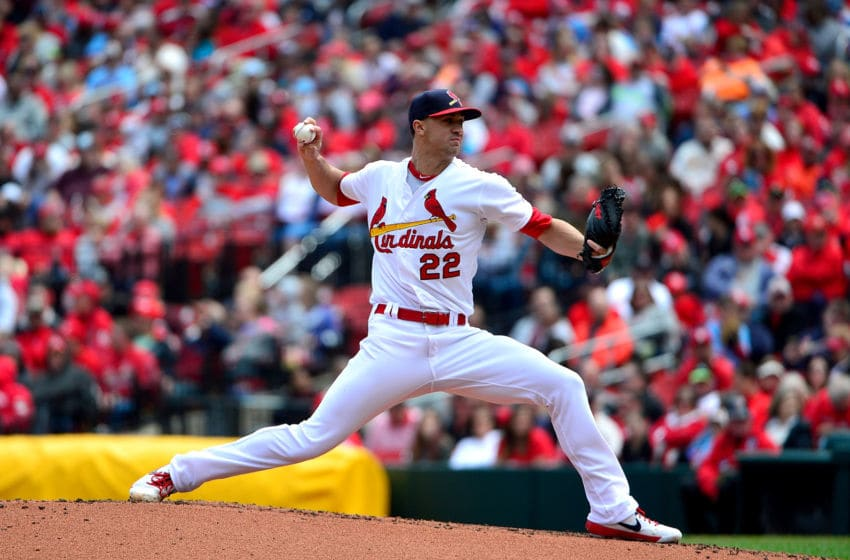 ST LOUIS, MO - APRIL 28: Jack Flaherty #22 of the St. Louis Cardinals pitches during the second inning against the Cincinnati Reds at Busch Stadium on April 28, 2019 in St Louis, Missouri. (Photo by Jeff Curry/Getty Images)