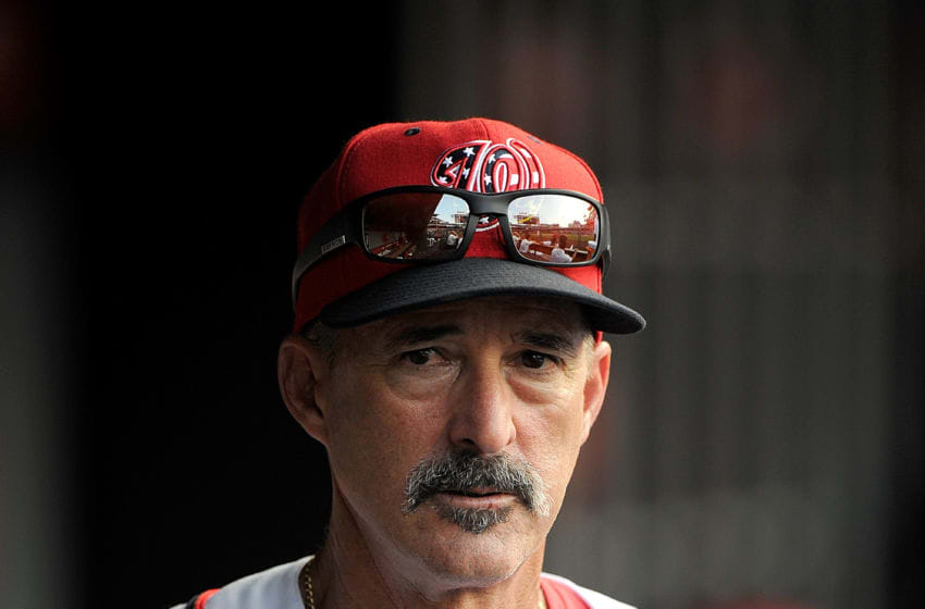 WASHINGTON, DC - JUNE 14: Pitching coach Mike Maddux