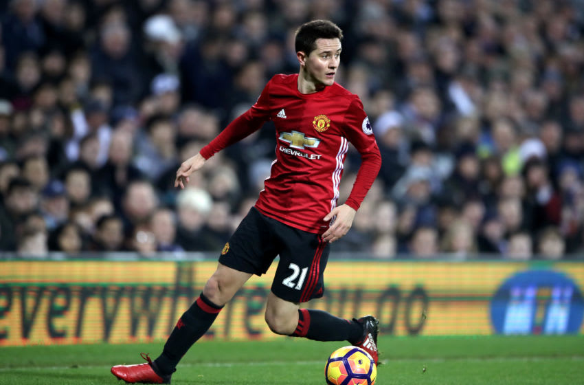 Manchester United's Ander Herrera during the Premier League match at The Hawthorns, West Bromwich. (Photo by Nick Potts/PA Images via Getty Images)