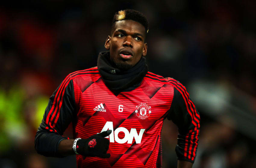 Paul Pogba, Manchester United. (Photo by Robbie Jay Barratt - AMA/Getty Images)