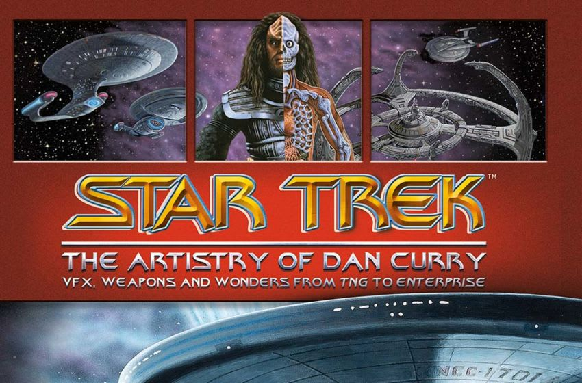 Star Trek: The Artistry of Dan Curry by Ben Robinson & Dan Curry, published by Titan Books © 2020 CBS Studios Inc. © 2020 Paramount Pictures Corp. STAR TREK and related marks and logos are trademarks of CBS Studios Inc. All Rights Reserved.