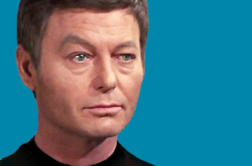 DeForest Kelley Up Close and Personal Book by Kristine Smith. Image courtesy Kristine Smith