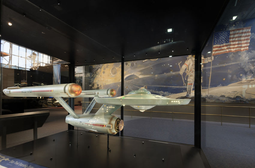 Smithsonian Channel will celebrate the 50th anniversary of Star Trek with a two-hour special that will take a look at the lasting influence the original Star Trek series has had on the world. BUILDING STAR TREK will premiere Sunday, September 4 at 8 p.m. ET/PT on Smithsonian Channel. BUILDING STAR TREK will follow the conservation team from the Smithsonian's National Air and Space Museum as they attempt to restore and conserve the original 11-foot, 250-pound model of the U.S.S. Enterprise from the original series. The special also will track the effort to rebuild a model of the original U.S.S. Enterprise bridge by using authentic set pieces and props, which recently went on display at Seattle's EMP Museum. - Photo: Courtesy of Smithsonian Channel Copyright: 2016 - SmithsonianChannel_StarshipEnterprise