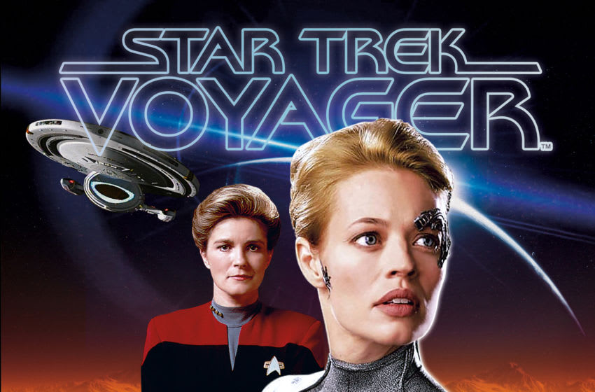 Photo: Star Trek: Voyager 25th Anniversary Special.. Image Courtesy Titan Comics