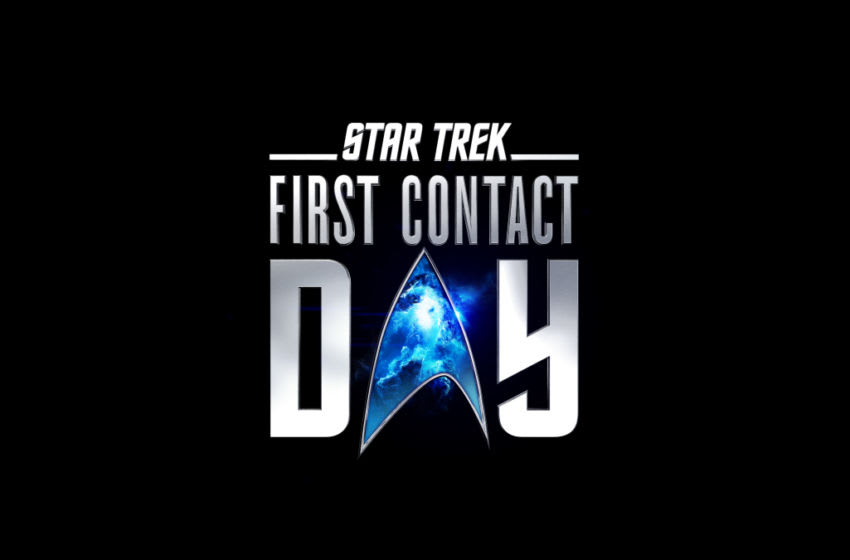 Pictured: Star Trek FIRST CONTACT DAY key art. Photo Cr: Paramount+/CBS ©2020 CBS Interactive, Inc. All Rights Reserved.