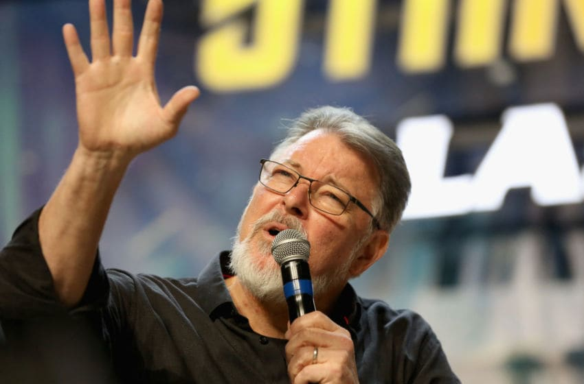 LAS VEGAS, NV - AUGUST 03: Actor and director Jonathan Frakes speaks at the