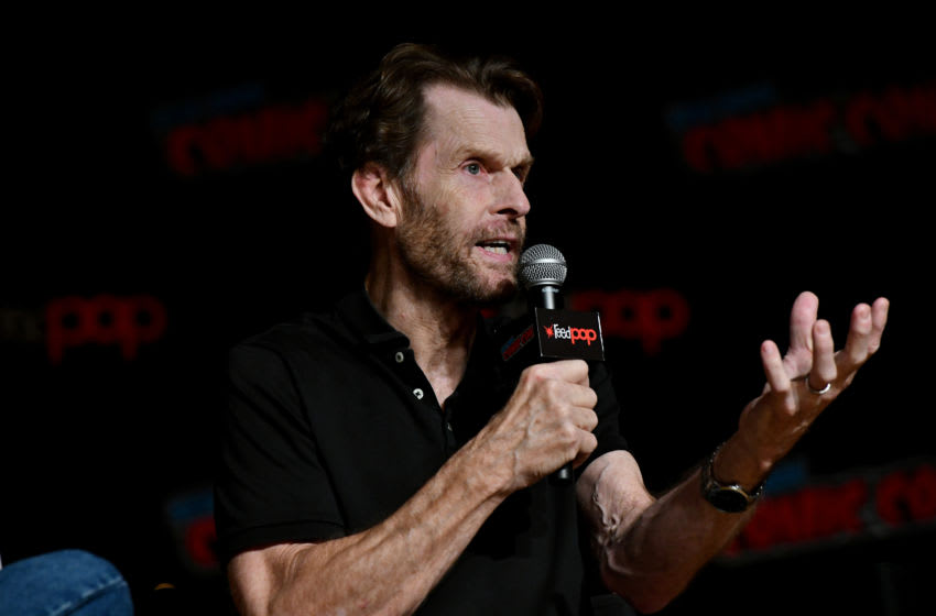 NEW YORK, NEW YORK - OCTOBER 06: Kevin Conroy speaks on stage during Batman Beyond 20th Anniversary at New York Comic Con 2019 Day 4 at Jacob K. Javits Convention Center on October 06, 2019 in New York City. (Photo by Craig Barritt/Getty Images for ReedPOP )