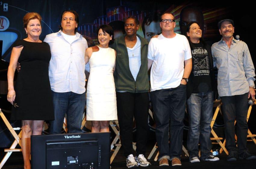 LAS VEGAS, NV - AUGUST 11: Cast of