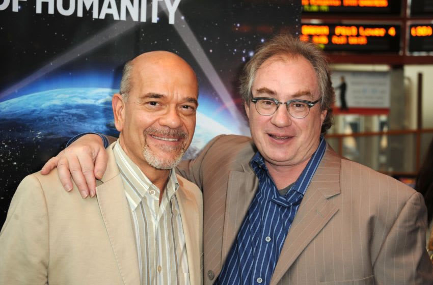 HOLLYWOOD, CA - MAY 16: Actor Robert Picardo the doctor from Star Trek Voyager and actor John Billingsley Dr. Phlox from Star Trek Enterprise attend the Innovators screening Of