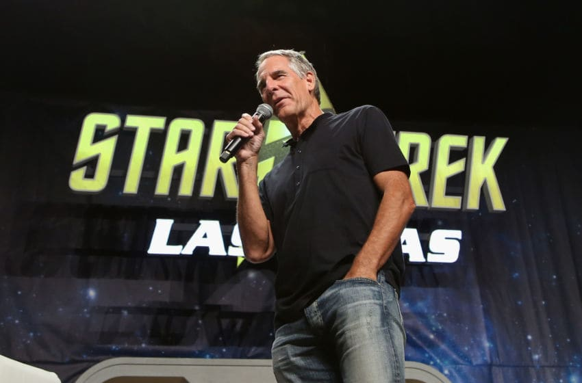 LAS VEGAS, NV - AUGUST 06: Actor Scott Bakula speaks during the 15th annual official Star Trek convention at the Rio Hotel & Casino on August 6, 2016 in Las Vegas, Nevada. (Photo by Gabe Ginsberg/Getty Images)