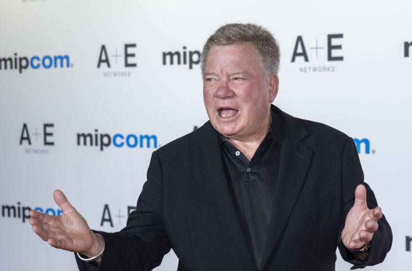 CANNES, FRANCE - OCTOBER 14: William Shatner attends the opening ceremony of MIPCOM 2019 on October 14, 2019 in Cannes, France. (Photo by Arnold Jerocki/Getty Images)