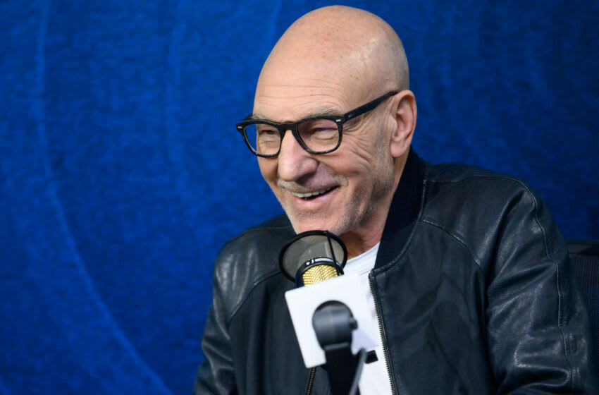 LOS ANGELES, CALIFORNIA - FEBRUARY 13: Sir Patrick Stewart visits the SiriusXM Hollywood Studio at SiriusXM Hollywood Studio on February 13, 2020 in Los Angeles, California. (Photo by Emma McIntyre/Getty Images)
