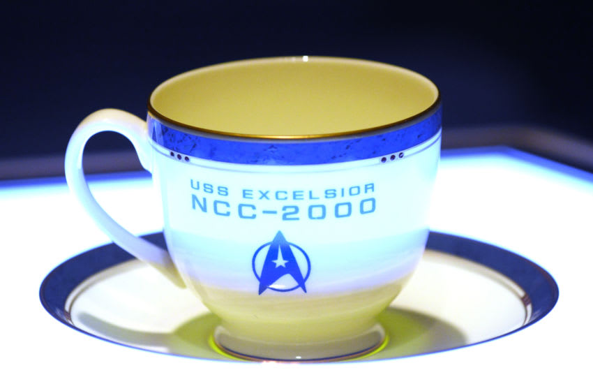LOS ANGELES, CA - MARCH 11: Recreated Captain's Sulu teacup from