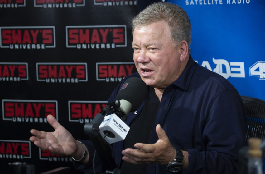 NEW YORK, NY - SEPTEMBER 06: William Shatner visits SiriusXM Studios on September 6, 2018 in New York City. (Photo by Santiago Felipe/Getty Images)