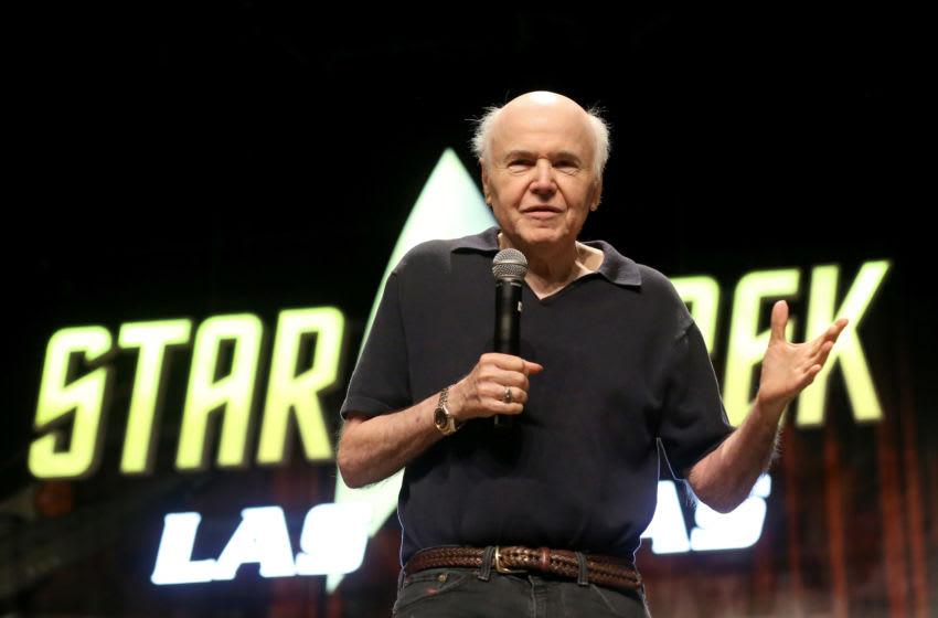 LAS VEGAS, NEVADA - AUGUST 02: Actor Walter Koenig speaks during