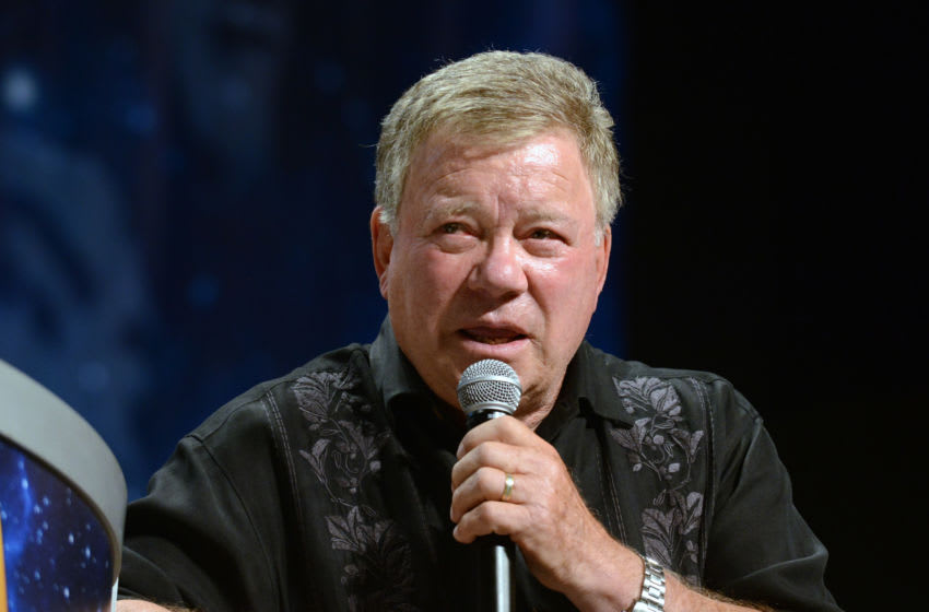 LAS VEGAS, NV - AUGUST 06: Actor William Shatner on day 4 of Creation Entertainment's Official Star Trek 50th Anniversary Convention at the Rio Hotel & Casino on August 6, 2016 in Las Vegas, Nevada. (Photo by Albert L. Ortega/Getty Images)