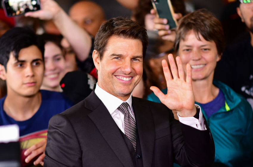WASHINGTON, DC - JULY 22: Tom Cruise attends the 'Mission: Impossible - Fallout' U.S. Premiere at Lockheed Martin IMAX Theater at the Smithsonian National Air & Space Museum on July 22, 2018 in Washington, D.C. (Photo by James Devaney/Getty Images)