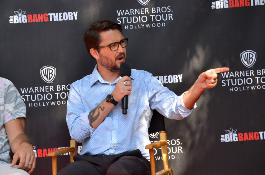 LOS ANGELES, CALIFORNIA - JUNE 27: Wil Wheaton speaks during the unveiling of The Big Bang Theory sets, now available at Warner Bros. Studio Tour Hollywood, on June 27, 2019 in Los Angeles, California. (Photo by Charley Gallay/Getty Images for Warner Bros. Studio Tour Hollywood (WBSTH))