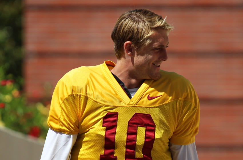 Jack Sears is off to Boise State and that should be fine by USC football. (Alicia de Artola/Reign of Troy)