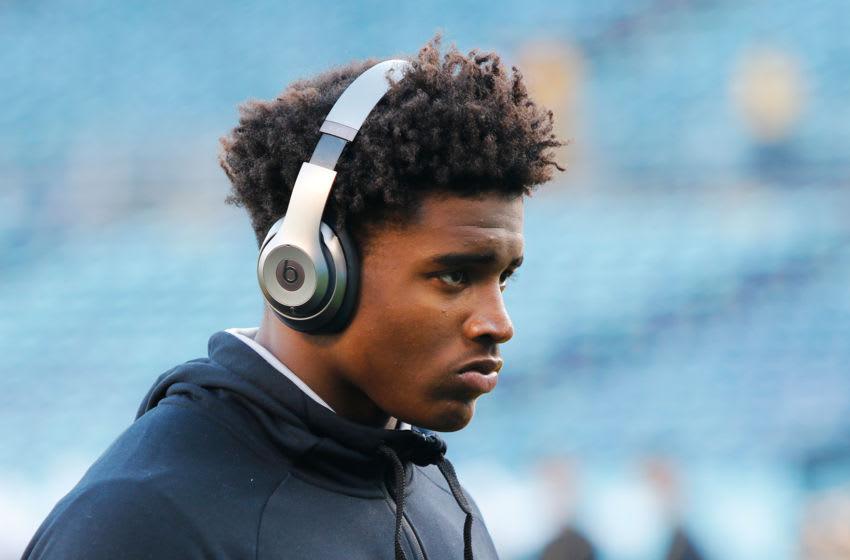 USC football defender Drake Jackson. (Michael Castillo/Reign of Troy)
