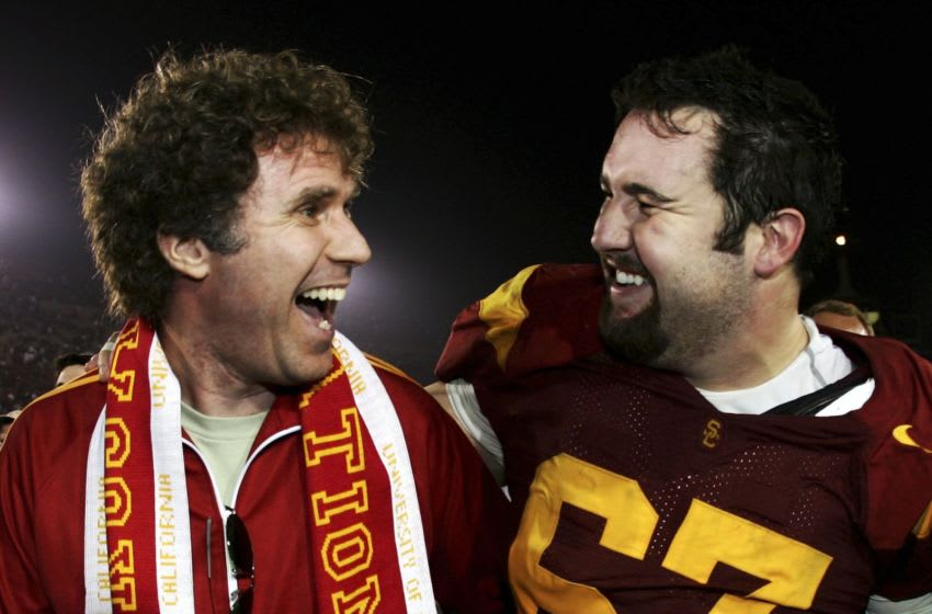 Will Ferrell is the ultimate USC football fan. (Harry How/Getty Images