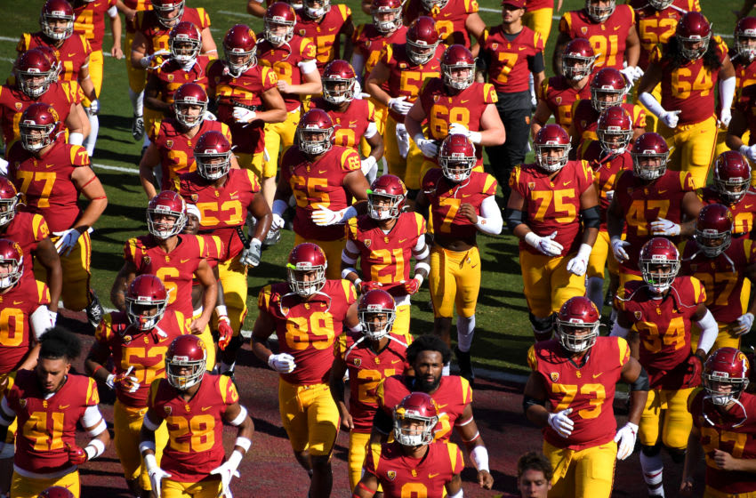 USC football at the Coliseum. (Jayne Kamin-Oncea/Getty Images)