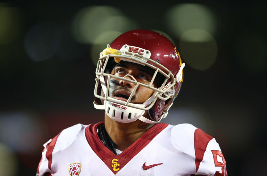USC football linebacker Jordan Iosefa. (Mark J. Rebilas-USA TODAY Sports)