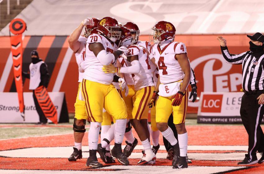 USC football vs. Utah. (Chris Nicoll-USA TODAY Sports)