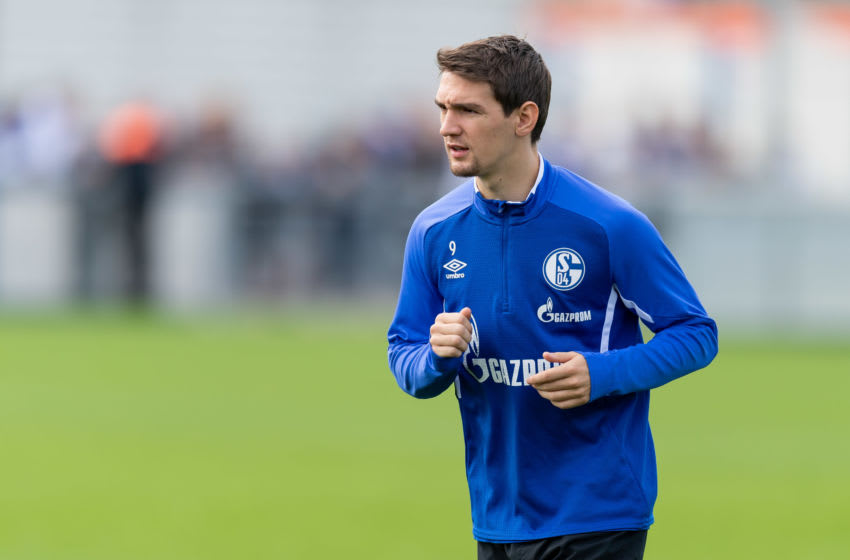GELSENKIRCHEN, GERMANY - AUGUST 20: Benito Raman of FC Schalke 04 looks on during the FC Schalke 04 training session on August 20, 2019 in Gelsenkirchen, Germany. (Photo by TF-Images/Getty Images)