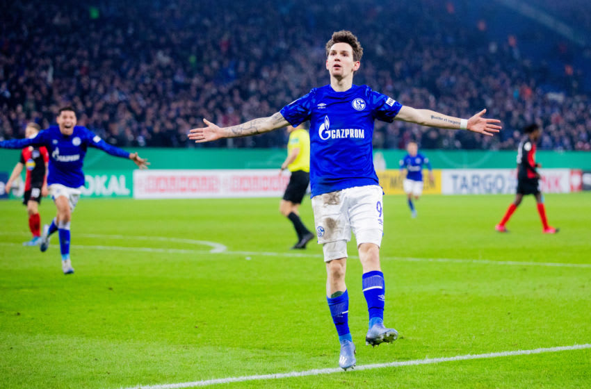Schalke's Benito Raman (Photo by Rolf Vennenbernd/picture alliance via Getty Images)