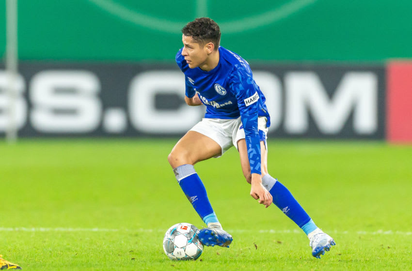 Amine Harit of FC Schalke 04 (Photo by Mario Hommes/DeFodi Images via Getty Images)