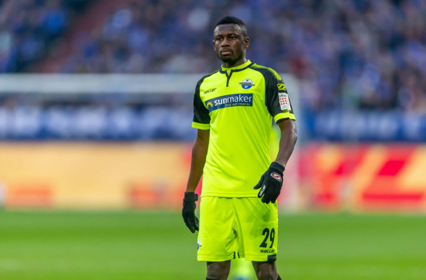 Jamilu Collins of SC Paderborn 07 (Photo by TF-Images/Getty Images)