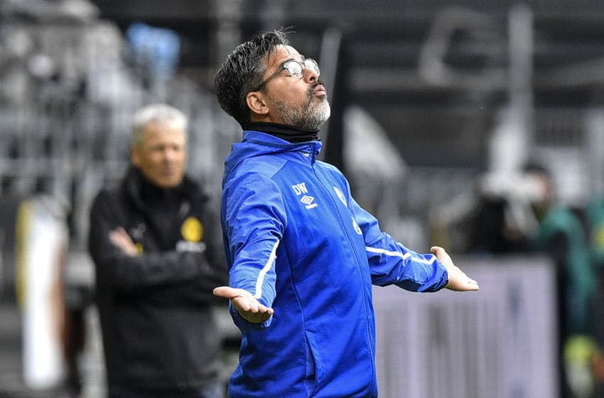 Schalke 04, David Wagner (Photo by MARTIN MEISSNER/POOL/AFP via Getty Images)