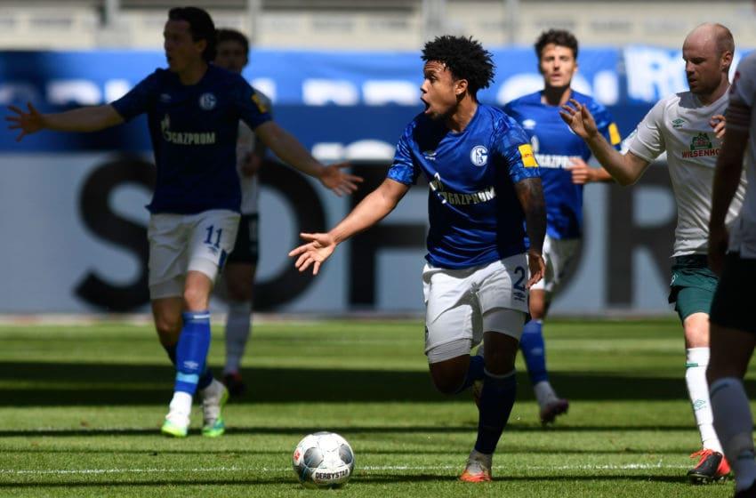 Schalke 04, Weston McKennie (Photo by BERND THISSEN/POOL/AFP via Getty Images)