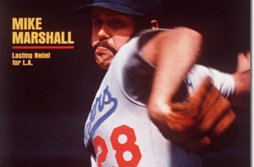 Mike Marshall-LA Dodgers Releif Pitcher August 12, 1974 X 18821 credit: Neil Leifer - contract