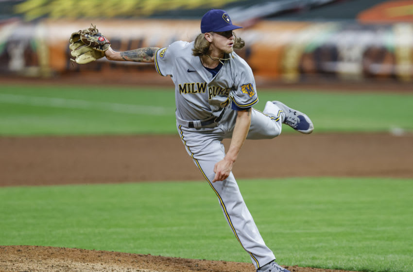 Josh Hader, Milwaukee Brewers (Photo by Michael Hickey/Getty Images)