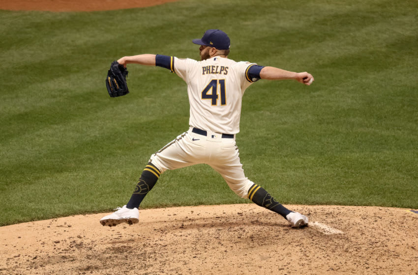David Phelps, Milwaukee Brewers (Photo by Dylan Buell/Getty Images)