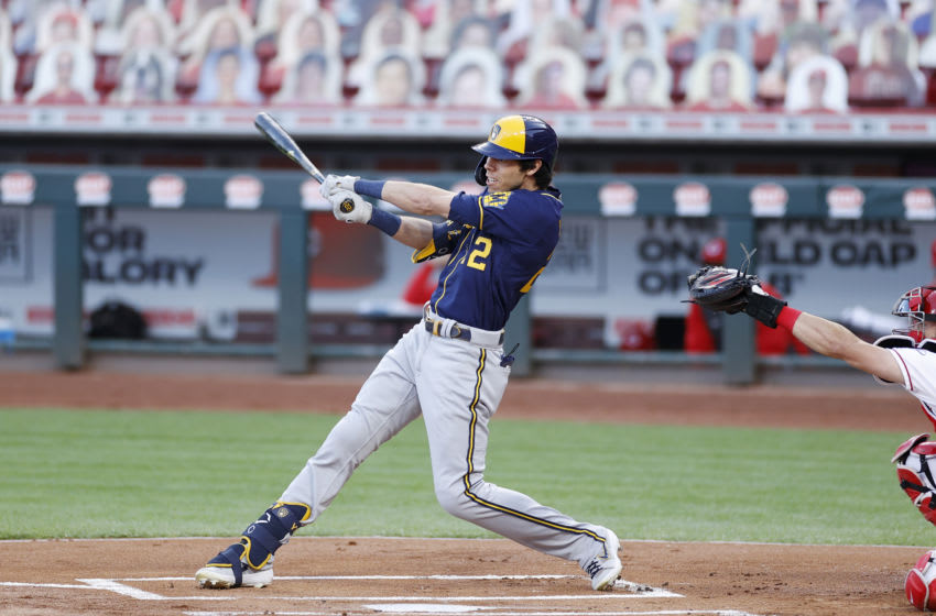 Christian Yelich, Milwaukee Brewers (Photo by Joe Robbins/Getty Images)