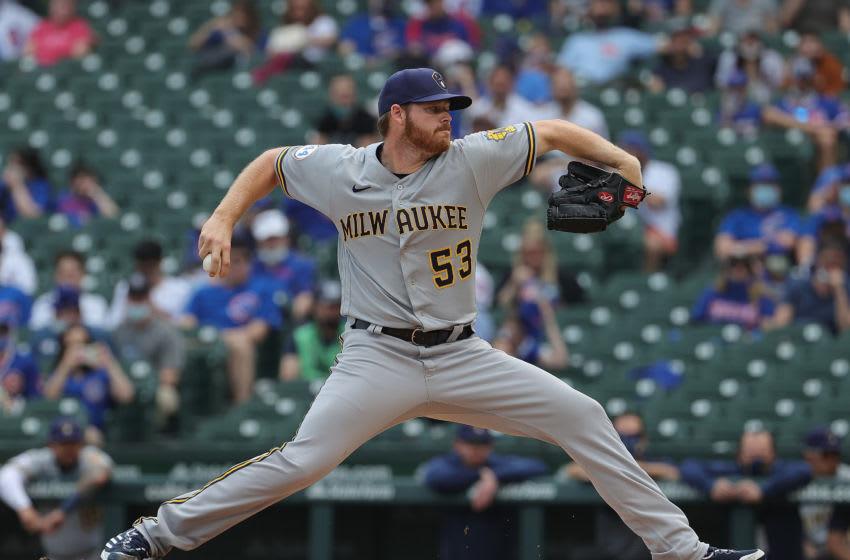 Brandon Woodruff, Milwaukee Brewers (Photo by Jonathan Daniel/Getty Images)