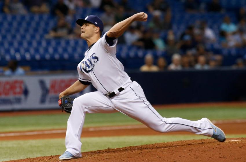ST. PETERSBURG, FL - SEPTEMBER 5: Pitcher Dan Jennings