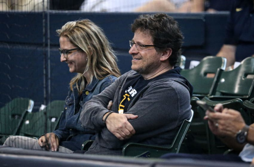 MILWAUKEE, WISCONSIN - JUNE 23: Milwaukee Brewers owner Mark Attanasio looks on during the game between the Cincinnati Reds and Milwaukee Brewers at Miller Park on June 23, 2019 in Milwaukee, Wisconsin. (Photo by Dylan Buell/Getty Images)