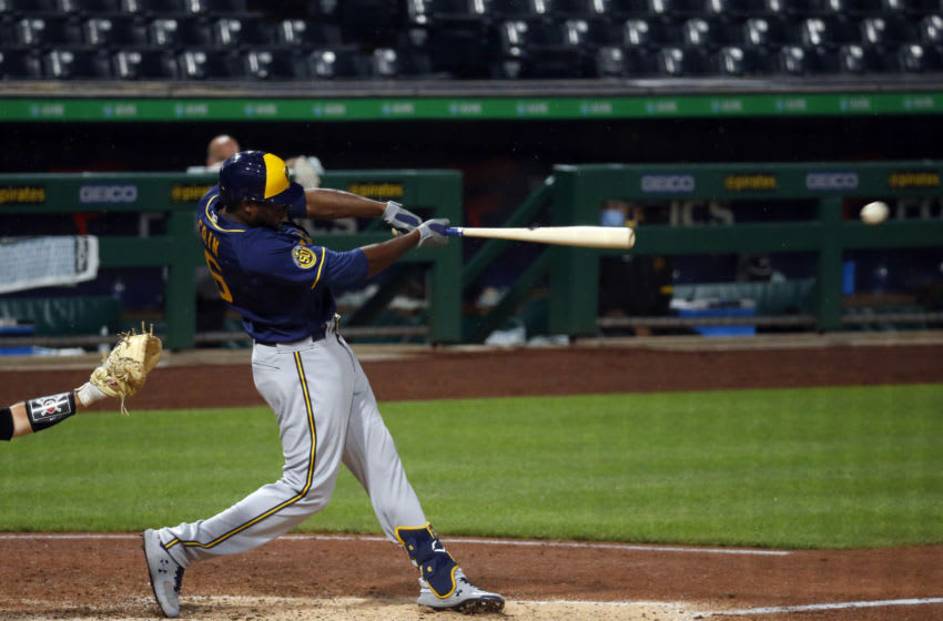Lorenzo Cain, Milwaukee Brewers (Photo by Justin K. Aller/Getty Images)