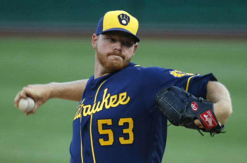 Brandon Woodruff, Milwaukee Brewers (Photo by Justin K. Aller/Getty Images)