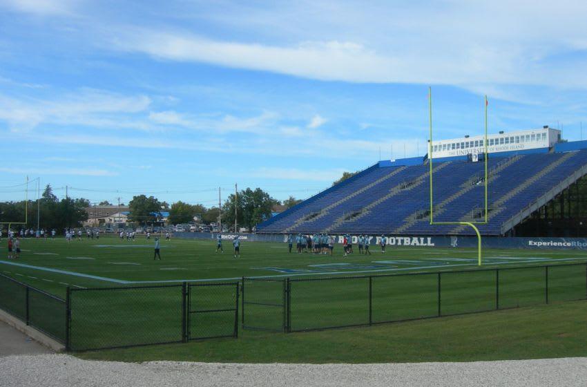 The Rhode Island Rams football team practices at Meade Stadium. Mandatory Credit: Jimmy Emerson, DVM, flickr.com