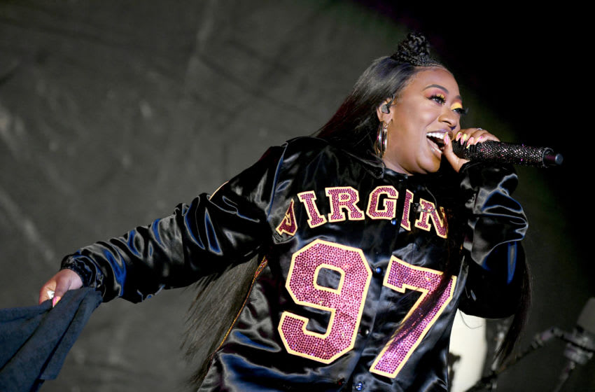 VIRGINIA BEACH, VIRGINIA - APRIL 27: Missy Elliott performs onstage at SOMETHING IN THE WATER - Day 2 on April 27, 2019 in Virginia Beach City. (Photo by Craig Barritt/Getty Images for Something in the Water)