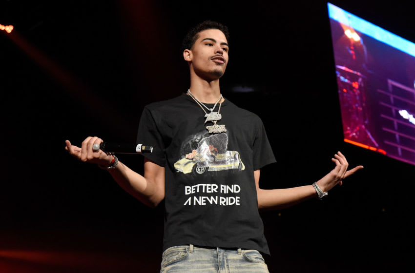 Jay Critch performs at the Soulfrito Music Festival at Barclays Center on August 30, 2019 in New York City. (Photo by Arik McArthur/Getty Images)