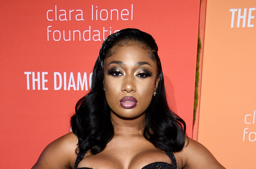 NEW YORK, NEW YORK - SEPTEMBER 12: Megan Thee Stallion attends Rihanna's 5th Annual Diamond Ball Benefitting The Clara Lionel Foundation at Cipriani Wall Street on September 12, 2019 in New York City. (Photo by Dimitrios Kambouris/Getty Images for Diamond Ball)