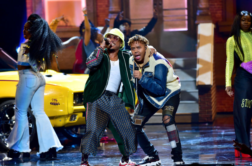 ATLANTA, GEORGIA - OCTOBER 05: Anderson Paak and YBN Cordae perform onstage at the BET Hip Hop Awards 2019 at Cobb Energy Center on October 05, 2019 in Atlanta, Georgia. (Photo by Moses Robinson/Getty Images for BET)